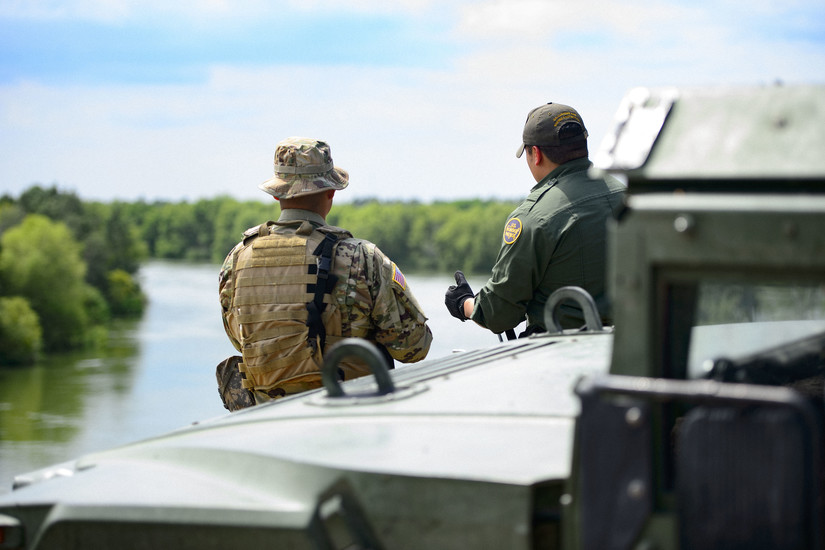 Texas Guard Enhances Border Security